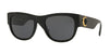 Versace VE4359 Pillow Sunglasses  GB1/87-BLACK 55-21-145 - Color Map black