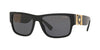 Versace VE4369 Pillow Sunglasses  GB1/81-BLACK 58-17-140 - Color Map black