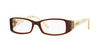 Vogue VO2595B Rectangle Eyeglasses  1665-BROWN 50-15-130 - Color Map brown