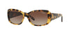 Vogue VO2606S Rectangle Sunglasses  260513-BROWN YELLOW TORTOISE 55-15-135 - Color Map havana