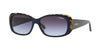 Vogue VO2606S Rectangle Sunglasses  26474Q-TOP BLUE/TORTOISE 55-15-135 - Color Map blue