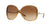 Vogue VO2638S Butterfly Sunglasses  167813-TRANSPARENT 60-15-125 - Color Map light brown