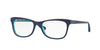 Vogue VO2763 Cat Eye Eyeglasses  2278-BLUETTE/ORANGE/AZURE TR 53-17-140 - Color Map blue
