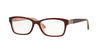 Vogue VO2765B Square Eyeglasses  2323-BORDEAUX/OPAL POWDER 53-16-140 - Color Map bordeaux