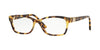 Vogue VO2765B Square Eyeglasses  2605-BROWN YELLOW TORTOISE 53-16-140 - Color Map havana
