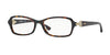 Vogue VO2789B Butterfly Eyeglasses  W656-DARK HAVANA 52-16-135 - Color Map havana