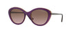 Vogue VO2870S Cat Eye Sunglasses  226814-TOP TR VIOLET/TR YELLO 52-19-135 - Color Map violet