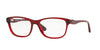 Vogue VO2908 Pillow Eyeglasses  2257-TRANSPARENT BORDEAUX 53-16-140 - Color Map bordeaux