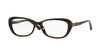 Vogue VO2909F Butterfly Eyeglasses  W656-DARK HAVANA 54-16-140 - Color Map havana