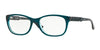 Vogue VO2911 Pillow Eyeglasses  2260-PETROLEUM GREEN/GLITTER GREEN 51-17-140 - Color Map green