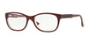 Vogue VO2911 Pillow Eyeglasses  2262-TOP BORDEAUX/GLITTER PINK 53-17-140 - Color Map purple/reddish