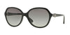 Vogue VO2916SB Square Sunglasses  W44/11-BLACK 58-17-135 - Color Map black