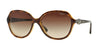 Vogue VO2916SB Square Sunglasses  W65613-DARK HAVANA 58-17-135 - Color Map havana