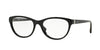 Vogue VO2938B Oval Eyeglasses  W44-BLACK 54-18-140 - Color Map black