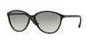 Vogue VO2940S Butterfly Sunglasses  W44/11-BLACK 58-15-140 - Color Map black