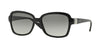 Vogue VO2942SB Pillow Sunglasses  W44/11-BLACK 55-17-135 - Color Map black