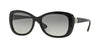 Vogue VO2943SB Butterfly Sunglasses  W44/11-BLACK 55-17-135 - Color Map black