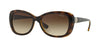 Vogue VO2943SB Butterfly Sunglasses  W65613-DARK HAVANA 55-17-135 - Color Map havana