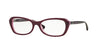 Vogue VO2960B Butterfly Eyeglasses  2321-EGGPLANT VIOLET/OPAL PINK 52-16-135 - Color Map violet