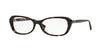 Vogue VO2960B Butterfly Eyeglasses  W656-HAVANA 52-16-135 - Color Map havana