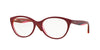 Vogue VO2962F Oval Eyeglasses  2313-TOP FUXIA/VIOLET/PINK TR 53-17-140 - Color Map violet