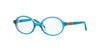 Vogue VO2965 Round Eyeglasses  2316-TRANSPARENT AZURE 43-17-125 - Color Map blue