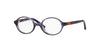 Vogue VO2965 Round Eyeglasses  2317-VIOLET 43-17-125 - Color Map violet