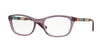 Vogue VO2969 Cat Eye Eyeglasses  2326-TRANSPARENT VIOLET 52-17-140 - Color Map violet