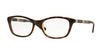 Vogue VO2969 Cat Eye Eyeglasses  W656-DARK HAVANA 52-17-140 - Color Map havana