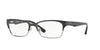 Vogue VO3918 Pillow Eyeglasses  352S-MATTE BLACK/BRUSHED GUNMETAL 52-17-135 - Color Map black