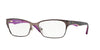Vogue VO3918 Pillow Eyeglasses  934-BRUSHED BROWN 52-17-135 - Color Map brown