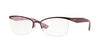 Vogue VO3981 Butterfly Eyeglasses  812S-MATTE BURGUNDY 54-17-135 - Color Map bordeaux