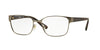 Vogue VO3986 Pillow Eyeglasses  548S-MATTE GUNMETAL 52-17-135 - Color Map gunmetal