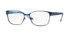 Vogue VO3986 Pillow Eyeglasses  964S-MATTE BLUE 52-17-135 - Color Map blue