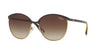Vogue VO4010S Phantos Sunglasses  997/13-BROWN/GOLD 57-17-140 - Color Map brown