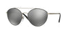 Vogue VO4023S Irregular Sunglasses  352/6G-MATTE BLACK/SILVER 56-18-135 - Color Map black