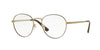 Vogue VO4024 Phantos Eyeglasses  5021-BROWN/PALE GOLD 52-18-135 - Color Map brown