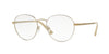 Vogue VO4024 Phantos Eyeglasses  996-MATTE CREAM/PALE GOLD 52-18-135 - Color Map ivory