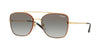 Vogue VO4112S Square Sunglasses  280/11-GOLD 56-16-135 - Color Map gold