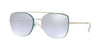 Vogue VO4112S Square Sunglasses  323/7A-SILVER 56-16-135 - Color Map silver