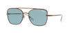 Vogue VO4112S Square Sunglasses  507480-COPPER 56-16-135 - Color Map bronze/copper