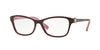 Vogue VO5002B Butterfly Eyeglasses  2321-EGGPLANT/OPAL PINK 54-16-135 - Color Map purple/reddish
