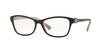 Vogue VO5002B Butterfly Eyeglasses  2350-TOP DARK BLUE/OPAL POWDER 54-16-135 - Color Map blue