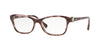 Vogue VO5002B Butterfly Eyeglasses  2707-LIGHT HAVANA PINK 54-16-135 - Color Map havana