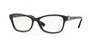Vogue VO5002B Butterfly Eyeglasses  W44-BLACK 54-16-135 - Color Map black