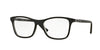 Vogue VO5028 Square Eyeglasses  2385-TOP BLACK/DK GREY TRANSP 53-17-140 - Color Map black