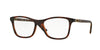 Vogue VO5028 Square Eyeglasses  2386-TOP HAVANA/LIGHT BROWN TRANSP 53-17-140 - Color Map havana