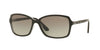 Vogue VO5031S Rectangle Sunglasses  238511-TOP MATTE BLACK/GREY TRANSP 58-16-135 - Color Map black