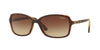 Vogue VO5031S Rectangle Sunglasses  238613-TOP DK HAVANA/LT BROWN TRANSP 58-16-135 - Color Map havana