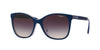 Vogue VO5032SF Square Sunglasses  238436-TOP DARK BLUE/VIOLET TRANSP 54-17-140 - Color Map blue